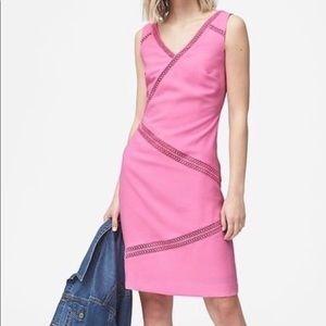 Banana Republic pink size 14 Sheath Dress